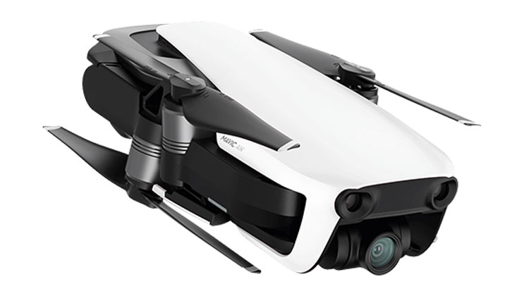 DJI Mavic Air plegado.